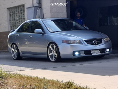 2004 Acura TSX - 18x8 35mm - JNC JNC026 - Coilovers - 215/35R18