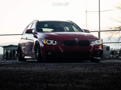 2014 BMW 320i - 19x8.5 30mm - Rohana Rc10 - Coilovers - 215/35R19