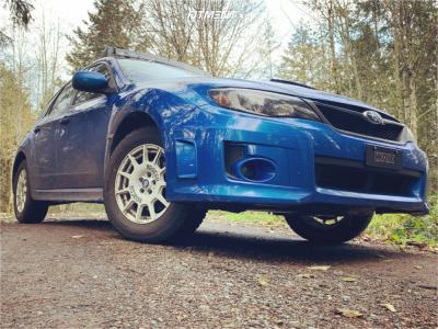 2012 Subaru WRX - 16x7.5 45mm - Sparco Terra - Lifted - 215/65R16