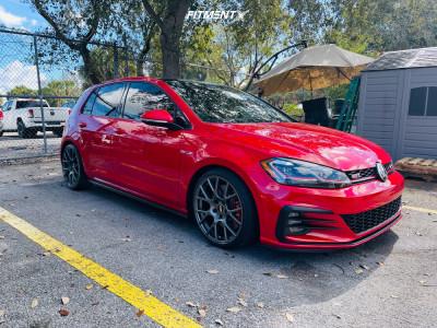 2020 Volkswagen GTI - 18x8.5 35mm - VMR V810 - Lowering Springs - 215/40R18