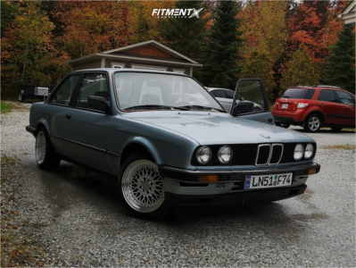 1984 BMW 318i - 16x8 20mm - XXR 536 - Stock Suspension - 205/45R16