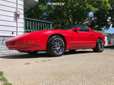 1993 Pontiac Firebird - 18x9 25mm - XXR 526 - Stock Suspension - 255/35R18