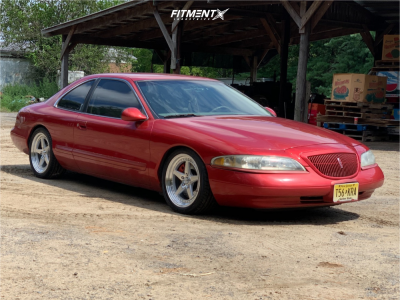 1997 Lincoln Mark VIII - 18x8.5 35mm - Aodhan Ds05 - Coilovers - 245/35R18
