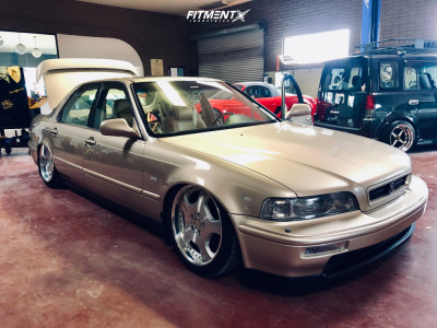 1994 Acura Legend - 18x8 41mm - Lowenhart X/Position D0-1 - Stock Suspension - 225/40R18