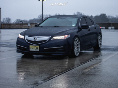 2016 Acura TLX - 20x10 40mm - F1R F29 - Coilovers - 245/30R20