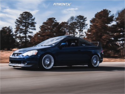 2003 Acura RSX - 18x9.5 34mm - Aodhan Ah02 - Coilovers - 225/40R18