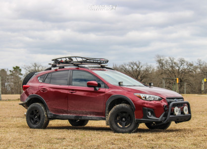 2018 Subaru Crosstrek - 15x7 15mm - VTX Offroad Rally 5 - Lifted - 225/75R15