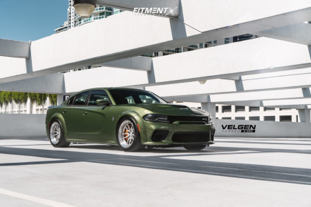 2020 Dodge Charger - 20x11 -5mm - Velgen Sl-10 - Lowering Springs - 315/35R20