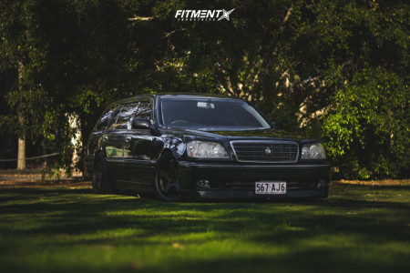 1998 Toyota Chaser - 18x9 30mm - Work Gt5 - Stock Suspension - 245/40R18