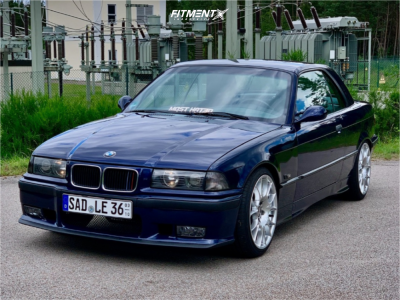 1996 BMW 318is - 18x8.5 10mm - BBS Ck - Coilovers - 215/35R18