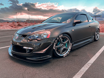 2002 Acura RSX - 18x7.5 35mm - Volk Gt-s - Coilovers - 225/40R18