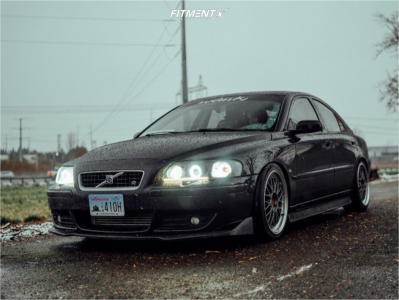 2006 Volvo S60 - 18x8.5 38mm - BBS Lm - Coilovers - 225/40R18