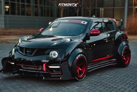 2014 Nissan Juke - 18x11 8mm - Cosmis Racing Xt-006r - Coilovers - 275/40R18