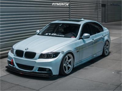 2009 BMW 335i xDrive - 18x9.5 38mm - Advan Racing Gt - Coilovers - 245/35R18