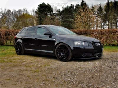 2006 Audi A3 - 18x8.5 42mm - 3SDM 0.05 - Coilovers - 225/40R18