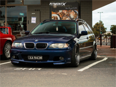 2003 BMW 330i - 18x9 12mm - Kansei Knp - Coilovers - 235/45R18
