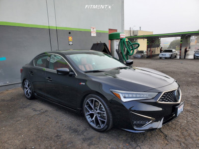 2019 Acura ILX - 18x8 40mm - BBS Sr - Coilovers - 225/40R18