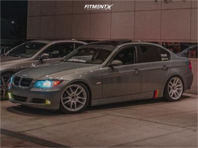 2006 BMW 3 Series - 18x8.5 30mm - Work Emotion Cr Kiwami - Coilovers - 225/40R18