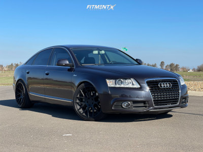 2011 Audi A6 Quattro - 20x8.5 35mm - Stance Sc-8 - Lowering Springs - 245/35R20