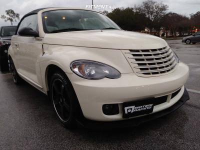 2007 Chrysler PT Cruiser - 17x7 40mm - Motegi Mr116 - Stock Suspension - 205/50R17