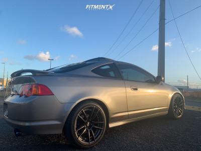 2002 Acura RSX - 18x8.75 35mm - XXR 969 - Lowering Springs - 225/40R18