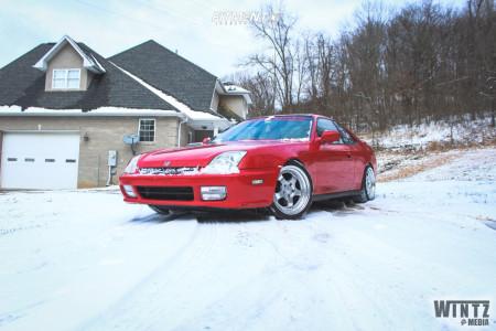 2000 Honda Prelude - 17x8.5 30mm - ESR Sr06 - Coilovers - 215/45R17