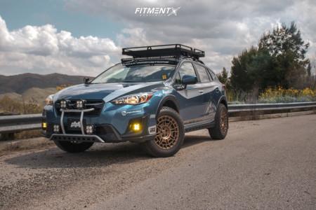 2019 Subaru Crosstrek - 17x8 35mm - Centerline 849 Pangea CT1 - Lifted - 235/65R17