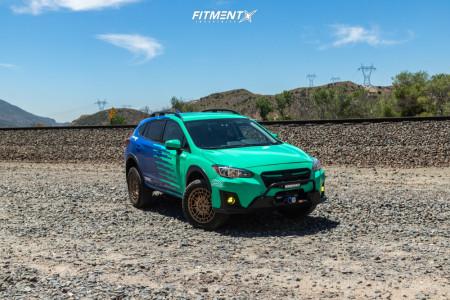 2019 Subaru Crosstrek - 18x8 35mm - Center Line 849 Pangea CT1 - Lifted - 265/60R18