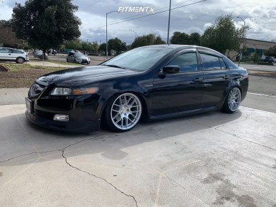 2004 Acura TL - 18x9.5 38mm - Aodhan Ah-x - Coilovers - 225/40R18