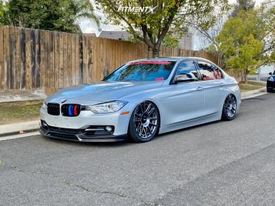 2014 BMW 335i - 19x8.5 35mm - Rotiform Ozr - Air Suspension - 245/35R19