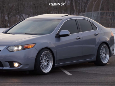 2012 Acura TSX - 18x9.5 30mm - Aodhan Ah02 - Coilovers - 225/40R18