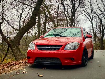 2009 Chevrolet Cobalt - 17x9.5 35mm - Varrstoen Es2 - Coilovers - 255/35R17