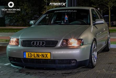 2003 Audi S3 - 18x9.5 35mm - 3SDM 0.05 - Air Suspension - 235/40R18