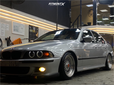 2002 BMW 530i - 17x8.5 13mm - BBS Rs - Coilovers - 215/45R17