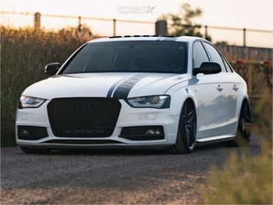 2013 Audi S4 - 20x10 40mm - Advanti Racing Decado - Air Suspension - 255/30R20
