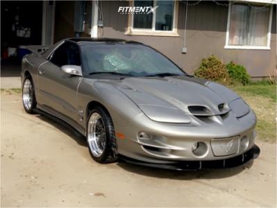 1999 Pontiac Firebird - 18x9.5 35mm - ESR Sr05 - Stock Suspension - 275/35R18