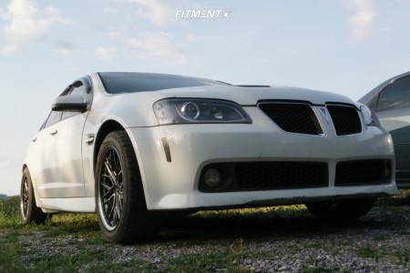 2008 Pontiac G8 - 18x8.5 25mm - XXR 571 - Coilovers - 245/45R18