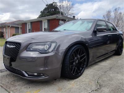 2015 Chrysler 300 - 20x9 20mm - Element El006 - Lowering Springs - 255/35R20