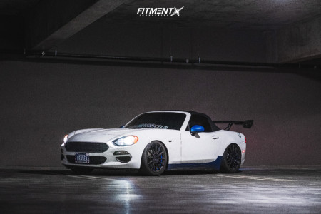 2017 Fiat 124 Spider - 17x7 40mm - Drag Concepts R16 - Coilovers - 205/45R17