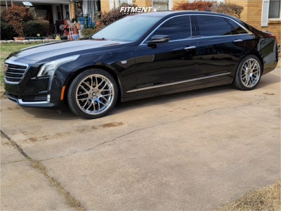 2017 Cadillac CT6 - 20x8.5 30mm - Drag Dr37 - Stock Suspension - 245/40R20