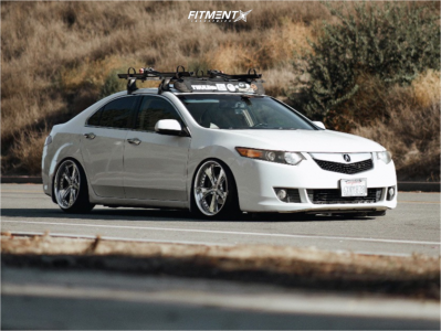 2010 Acura TSX - 19x10 16mm - Weds Kranze Ratzingers - Coilovers - 225/35R19