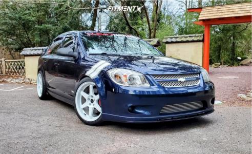2009 Chevrolet Cobalt - 18x8.5 35mm - Vors Tr37 - Coilovers - 225/40R18