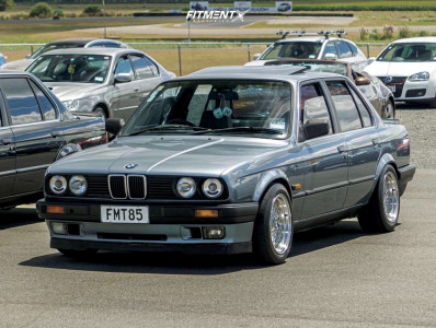 1988 BMW 325i - 15x8 20mm - BBS Sr - Coilovers - 205/50R15