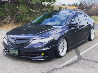 2015 Acura TLX - 19x9.5 22mm - Aodhan DS07 - Coilovers - 235/35R19