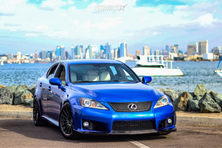 2011 Lexus IS F - 18x9.5 35mm - Enkei Rs05-rr - Coilovers - 275/35R18