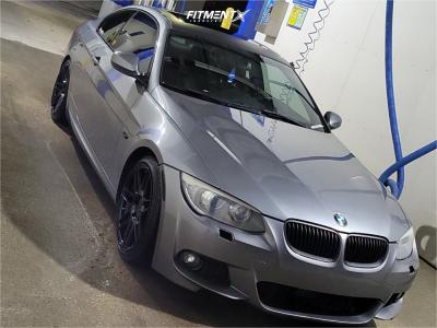 2011 BMW 328i - 18x8.5 30mm - Verde Form V21 - Stock Suspension - 225/40R18