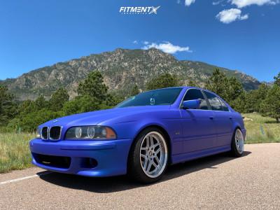 2001 BMW 525i - 18x9.5 22mm - ESR Cs15 - Coilovers - 235/40R18
