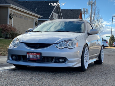 2002 Acura RSX - 18x9.5 38mm - F1R F29 - Coilovers - 235/40R18