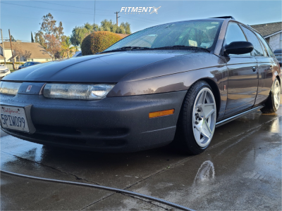 1999 Saturn SW1 - 16x8 25mm - 3SDM 0.05 - Coilovers - 195/40R16