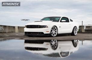 2012 Ford Mustang - 20x9 35mm - Velgen VMB8 - Lowered Adj Coil Overs - 255/30R20
